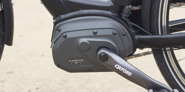 Bike&Co Elektrische Fiets-shimano steps -middenmotor- foto: Stijn Tyteca