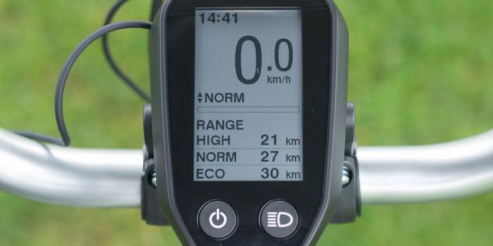 Bike&Co Elektrische Fiets-shimano display- foto: Stijn Tyteca