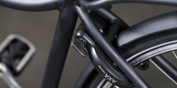 het frame van stadsfiets bike and co